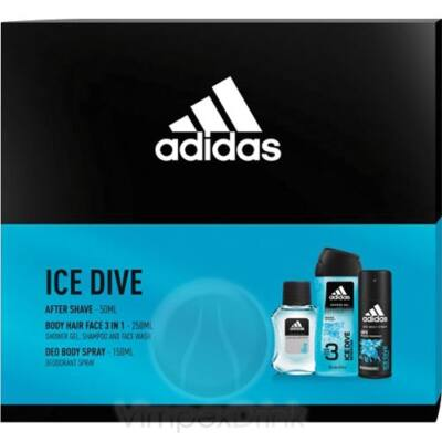 Adidas Cs. ICE DIVE AS 50ML+ BS 150ML + SG 250ML MALE