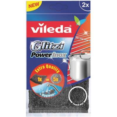 Vileda Inox power pad 2db