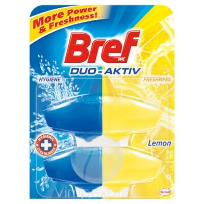 Bref duo aktiv ut. 2*50ml lemon