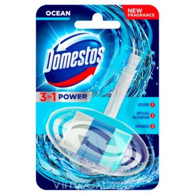 Domestos 3in1 WC-rúd kosaras Atlantic 40g