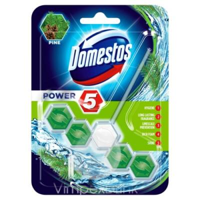 Domestos Power5 WC-rúd 55g Pine